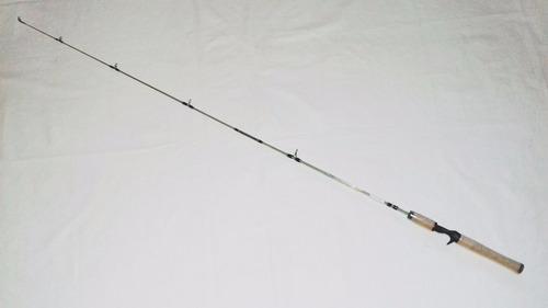 caña baitcasting de fibra maciza , 1,50mt, mango de corcho