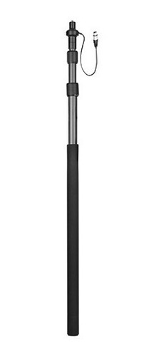 caña boom pole brazo carbono 2,5m boya by-pb25 p/ microfono