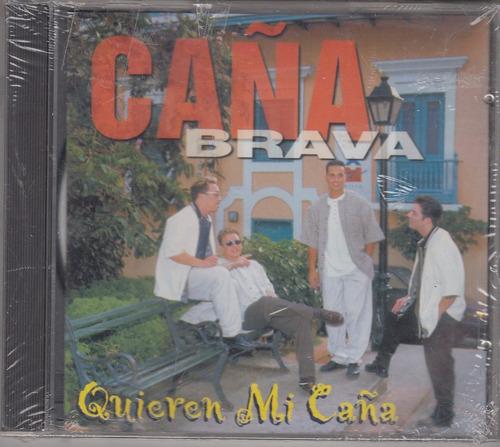 caña brava - quieren mi caña cd original usado