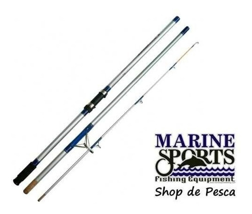caña de lance de costa  marine sports super cast 3 mts 3tram