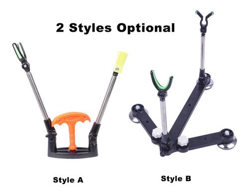 caña de pescar ajustable soporte para soporte de vara caña d