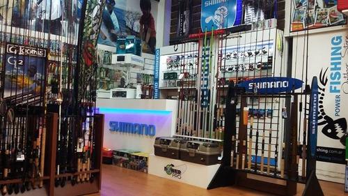 caña de pescar shimano sojourn sjcm70mha 7 pies 15-30 libras