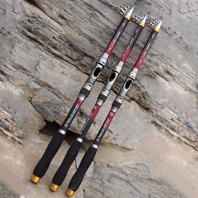 caña de pescar telescópica desde 2.10 m