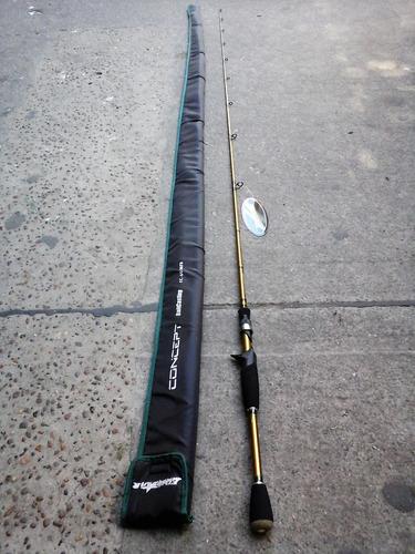 caña fivestar concept fc-601 mfb 1tr 17 lbs baitcasting!!!!!
