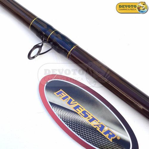 caña fivestar limited fx 1302 xxhb 3,90 mts 2 tr. rotativo