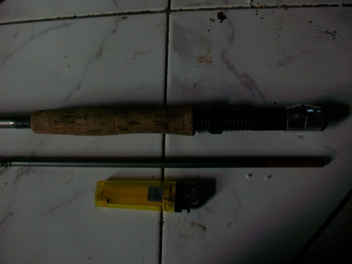 caña fly mosca -2,10 llevada a 1,95- martin line 5/6 permuto