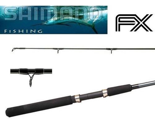 caña  fx 702 salmon shimano / 2.10mts. + regalo