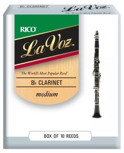 caña para bb clarinete la voz rico medium rcc10md por unidad