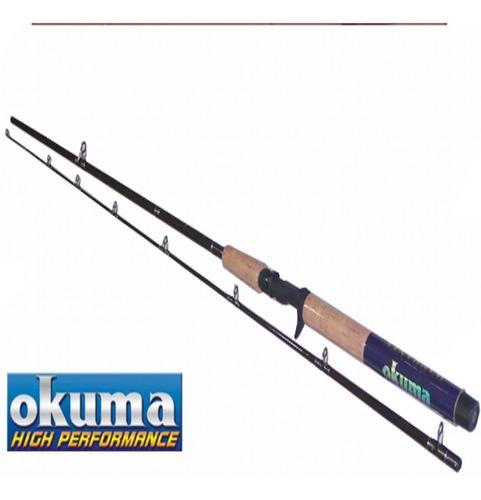 caña pescar gatillo  okuma celilo grafito 2 tramos 3,15 cm