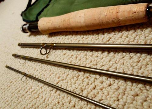 caña redington rs4 nº4 de 8´6  - nueva - pesca con mosca