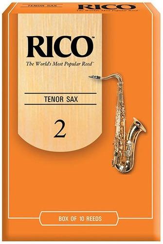 caña rico saxo tenor nº 2 - rka1020 por unidad