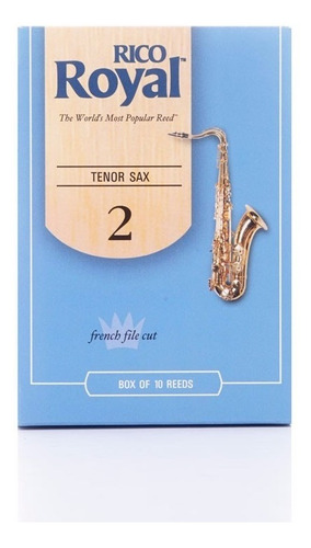 caña sax tenor rico royal 2 1/2