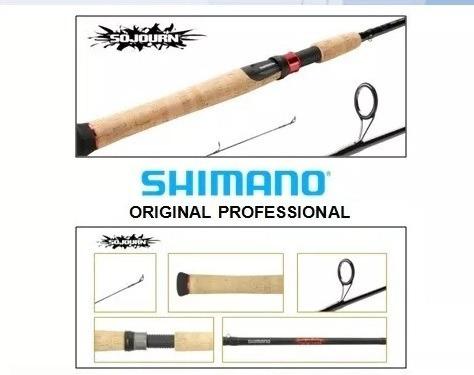 caña shimano sojourn 2.10 mts spinning  6 - 14 lb