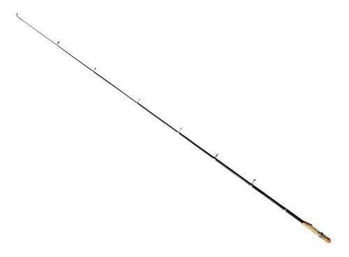 caña telescópica de pesca agarre pez fibra de carbono