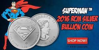 canada - moneda 1 onza de plata proof de superman - 2016
