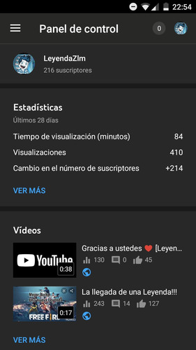 canal 210 subs