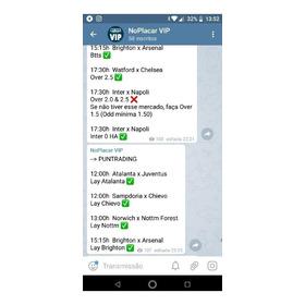 Canal De Tips Vip Telegram Para Apostador E Trader Esportivo
