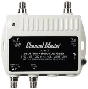 canal maestro cm 3412 de 2 puertos ultra mini amplificador d