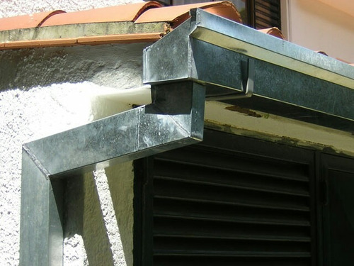 canales de recolección de agua(canaletas)