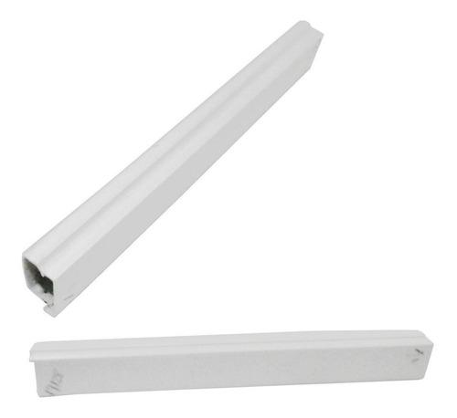 canaleta 13*8 blanca * 2mt con adhesivo acolchado panamerica