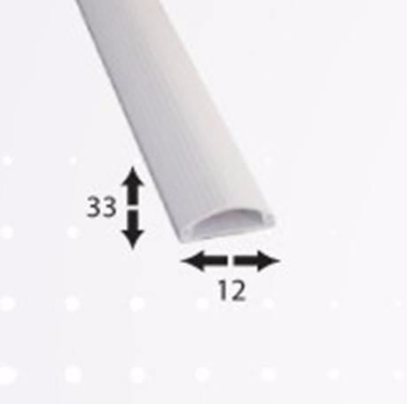 Canaleta 3312 pvc piso 3 cables 33mmx12mmx2m 1 v a autoext - Precio canaleta pvc ...