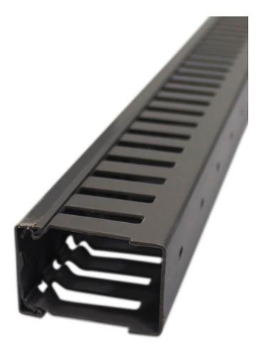 canaleta bt 40mm*60mm * 2m ranurada gris dexson dxn10072 ue(