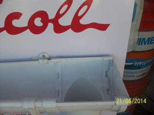 canaleta de 3 metros para techos nicoll oferta