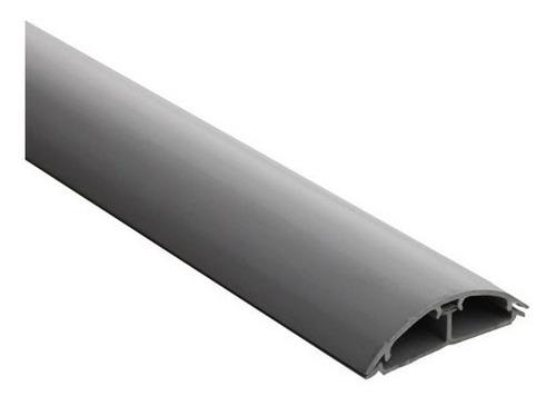 canaleta de piso gris 60 x 13 x 2m s/adhesivo dexson dxn1001