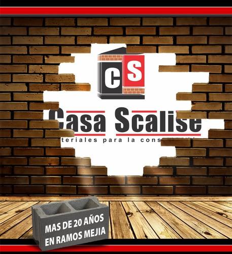 canaleta desagüe pvc plástica 3 metros // casa scalise