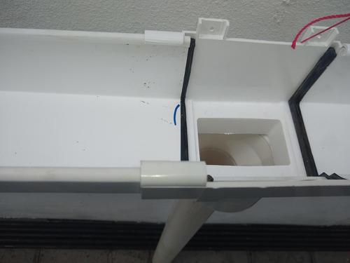 canaleta pluvial pvc reforzada 3 mt caev