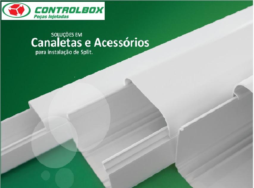 Canaleta pvc 01 metro para ar cond split grande r - Canaleta de pvc ...