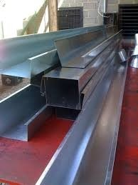 Canaleta recoleccion de aguas de lluvia galvanizada bs for Canaletas para techos de madera