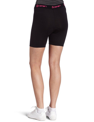 canari gel brief short de ciclismo para dama l