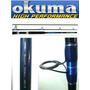 Caña De Pescar Para Surcasting 376cm Okuma Bluediamond