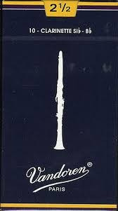 cañas vandoren tradicional, clarinete bb - sonidos porteños