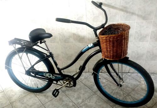 canasta de mimbre para bicicleta, accesorios