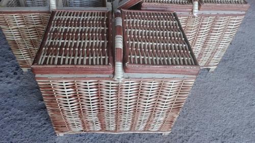canasta de mimbre para picnic envío a regiones