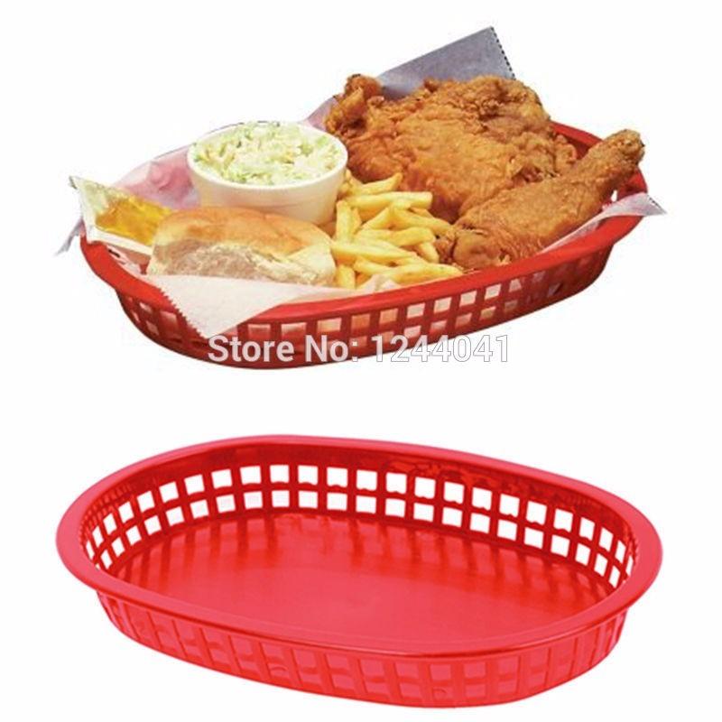 Plastic Food Service Baskets
