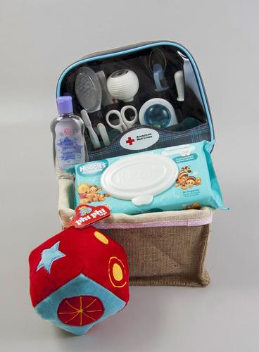 canasta de regalos para bebe baby cube a cuidarse nena
