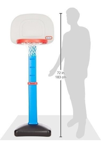canasta infantil basquetbol little tikes basketball