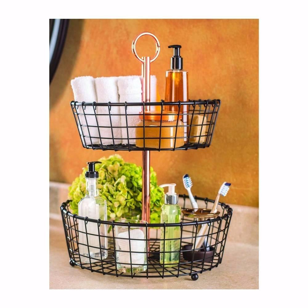 Canasta para decoraci n accesorios de ba o o cocina frutas for Articulos para banos y cocinas