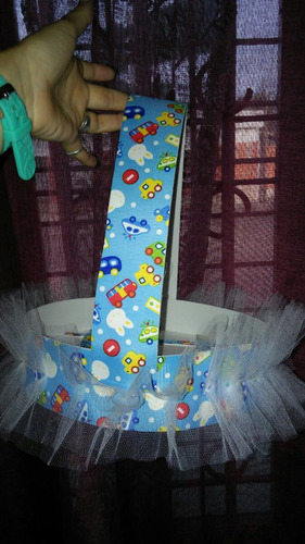 canasta para souvenirs nacimiento baby showers