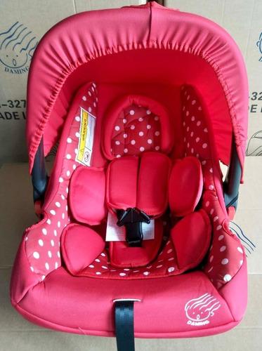 canasta porta bebe,mecedora car seat,acolchada nueva