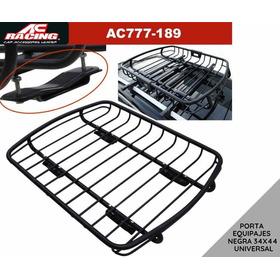 Canasta Porta Equipaje 34x44 De Tubo Ac Racing Original