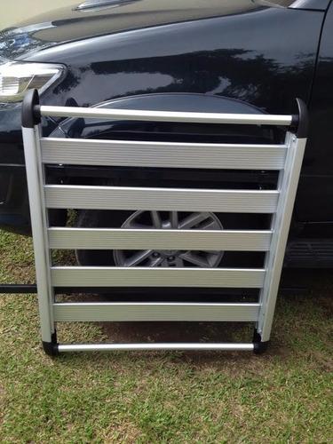 canastas aluminio chevrolet spark y otros con racks laterale