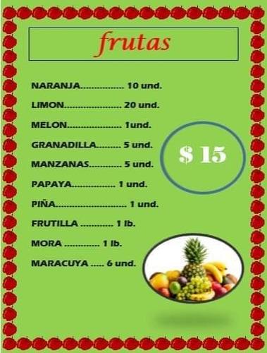 canastas de frutas y verduras a domicilio