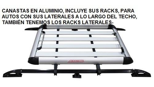 canastas en aluminio incluye sus racks- ac racing