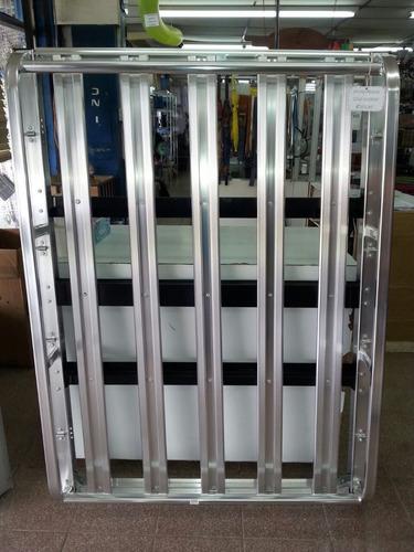 canastas en aluminio para microbuses, hyundai y otras