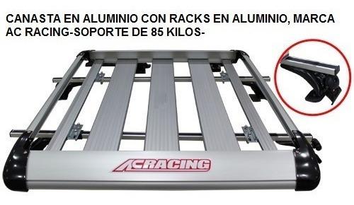 canastas pick-up aluminio y todo 4x4, autos, ac racing