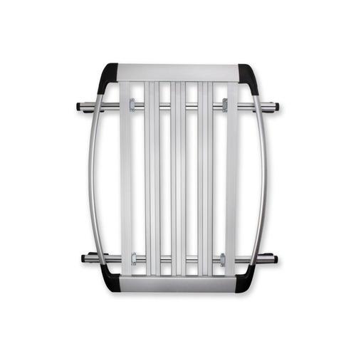 canastilla porta equipaje osun universal toldo de aluminio
